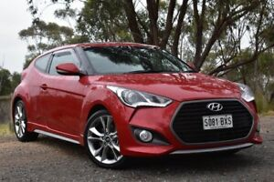 2017 Hyundai Veloster FS5 Series II SR Coupe Turbo Red 6 Speed Manual Hatchback St Marys Mitcham Area Preview