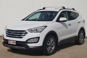 2014 Hyundai Santa Fe DM MY14 Elite White 6 Speed Sports Automatic Wagon Bundaberg Central Bundaberg City Preview