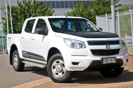 2014 Holden Colorado RG MY15 LT Crew Cab White 6 Speed Sports Automatic Utility Wayville Unley Area Preview