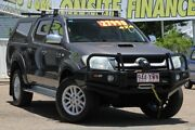 2010 Toyota Hilux KUN26R MY10 SR5 Gunmetal 4 Speed Automatic Utility Moorooka Brisbane South West Preview