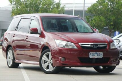 2012 Subaru Liberty B5 MY13 Exiga Lineartronic AWD Premium Red 6 Speed Constant Variable Wagon