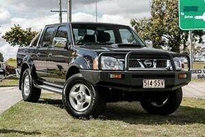 2012 Nissan Navara D22 S5 ST-R Cosmic Black 5 Speed Manual Utility Springwood Logan Area Preview