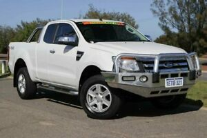 2015 Ford Ranger PX XLT Super Cab White 6 Speed Sports Automatic Utility Clarkson Wanneroo Area Preview