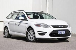 2014 Ford Mondeo MC LX PwrShift TDCi White 6 Speed Sports Automatic Dual Clutch Wagon East Rockingham Rockingham Area Preview