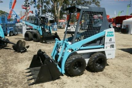 Toyota Husky 4SDK4 Bobcat - Delivery to your door Emerald Cardinia Area Preview