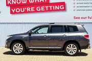 2013 Toyota Kluger GSU45R MY12 Grande AWD Grey 5 Speed Sports Automatic Wagon Morley Bayswater Area Preview