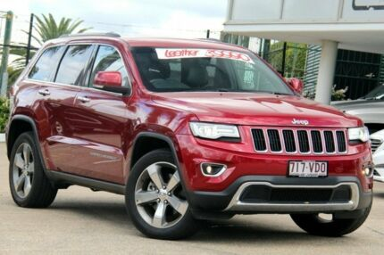 2014 Jeep Grand Cherokee WK MY15 Limited Garnet Red 8 Speed Sports Automatic Wagon