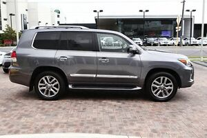 2014 Lexus LX570 URJ201R MY15 Grey 6 Speed Sports Automatic Wagon Osborne Park Stirling Area Preview