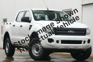 2012 Ford Ranger PX XL Double Cab 4x2 Hi-Rider White 6 Speed Sports Automatic Utility Hyde Park Unley Area Preview