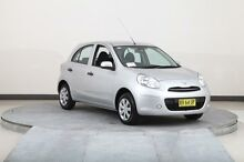 2013 Nissan Micra K13 MY13 ST Silver 4 Speed Automatic Hatchback Smithfield Parramatta Area Preview