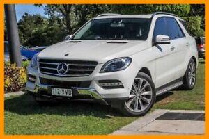 2013 Mercedes-Benz ML350 W166 BlueTEC 7G-Tronic + 7 Speed Sports Automatic Wagon