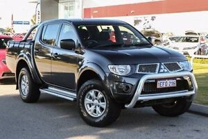 2013 Mitsubishi Triton MN MY13 GL-R Double Cab Grey 5 Speed Manual Utility East Rockingham Rockingham Area Preview