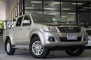 2013 Toyota Hilux KUN26R MY14 SR5 Double Cab Gold 5 Speed Automatic Utility Myaree Melville Area Preview