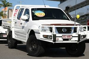 2013 Nissan Navara D40 S6 MY12 ST White 6 Speed Manual Utility Hillcrest Logan Area Preview