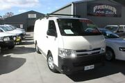2011 Toyota Hiace KDH201R MY11 Upgrade LWB White 5 Speed Manual Van Mitchell Gungahlin Area Preview