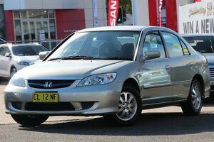 2005 Honda Civic 7th Gen MY2004 GLi Gold 4 Speed Automatic Sedan Brookvale Manly Area Preview