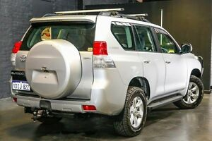 2010 Toyota Landcruiser Prado KDJ150R GXL Silver 5 Speed Sports Automatic Wagon Northbridge Perth City Area Preview