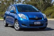 2011 Toyota Yaris NCP130R YR Blue 4 Speed Automatic Hatchback Wilson Canning Area Preview