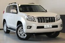 2009 Toyota Landcruiser Prado  White Sports Automatic Wagon Blair Athol Port Adelaide Area Preview