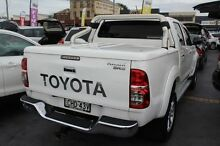 2012 Toyota Hilux KUN26R MY12 SR5 (4x4) White 4 Speed Automatic Dual Cab Pick-up South Maitland Maitland Area Preview