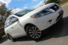 2013 Nissan Pathfinder  White Constant Variable Wagon Hillcrest Port Adelaide Area Preview