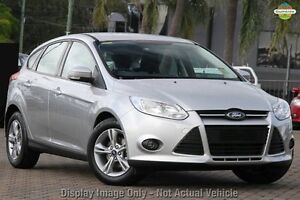 2014 Ford Focus LW MKII Trend PwrShift Silver 6 Speed Sports Automatic Dual Clutch Hatchback Invermay Launceston Area Preview
