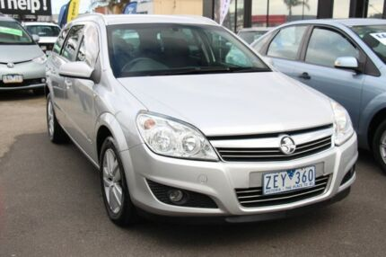 2008 Holden Astra AH MY08.5 CDX Silver 4 Speed Automatic Wagon Heatherton Kingston Area Preview