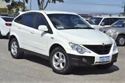 2011 Ssangyong Actyon 100 Series MY08 XDi White 5 Speed Manual Wagon Wangara Wanneroo Area Preview