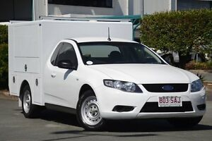 2011 Ford Falcon FG MkII Super Cab Winter White 6 Speed Sports Automatic Cab Chassis Acacia Ridge Brisbane South West Preview