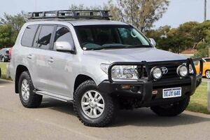 2013 Toyota Landcruiser VDJ200R MY13 GXL Silver 6 Speed Sports Automatic Wagon Mindarie Wanneroo Area Preview