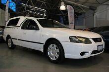 2006 Ford Falcon BF MkII XL (LPG) White 4 Speed Auto Seq Sportshift Utility Victoria Park Victoria Park Area Preview