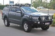 2015 Ford Ranger PX MkII XLT Double Cab Grey 6 Speed Sports Automatic Utility Monkland Gympie Area Preview