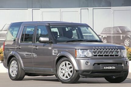 2011 Land Rover Discovery 4 Series 4 MY11 TdV6 CommandShift Stornoway Grey 6 Speed Auto Seq Sportshi Smeaton Grange Camden Area Preview