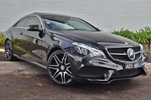 2015 Mercedes-Benz E250  Black Sports Automatic Coupe Burwood Whitehorse Area Preview