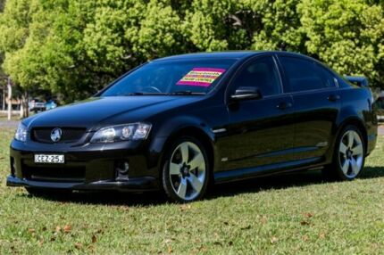 2008 Holden Commodore VE SS V Black 6 Speed Manual Sedan Girards Hill Lismore Area Preview