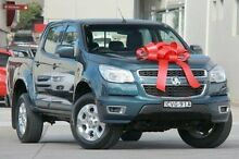 2014 Holden Colorado RG MY14 LT Crew Cab Blue 6 Speed Manual Utility Pennant Hills Hornsby Area Preview