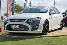 2013 Ford Performance Vehicles F6 FG MK II White 6 Speed Sports Automatic Sedan Yeerongpilly Brisbane South West Preview