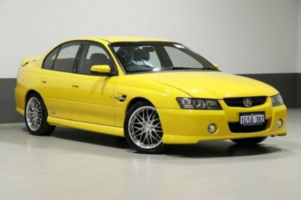 2005 Holden Commodore VZ SS Yellow 4 Speed Automatic Sedan Bentley Canning Area Preview