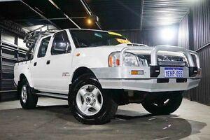 2010 Nissan Navara D22 MY2010 ST-R White 5 Speed Manual Utility Wangara Wanneroo Area Preview