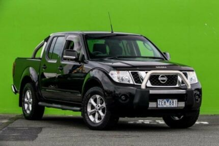 2012 Nissan Navara D40 S6 MY12 ST Black 5 Speed Sports Automatic Utility Ringwood East Maroondah Area Preview