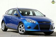 2015 Ford Focus LW MKII MY14 Trend PwrShift Winning Blue 6 Speed Sports Automatic Dual Clutch Hatchb East Rockingham Rockingham Area Preview