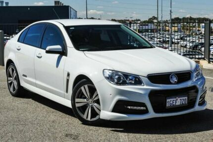 2014 Holden Commodore VF SS White 6 Speed Automatic Sedan Wangara Wanneroo Area Preview