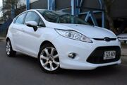 2009 Ford Fiesta WS Zetec White 4 Speed Automatic Hatchback Thebarton West Torrens Area Preview