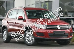 2014 Volkswagen Tiguan 5N MY14 118TSI DSG 2WD Wild Cherry Red 6 Speed Sports Automatic Dual Clutch Mackay Mackay City Preview