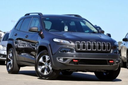 2015 Jeep Cherokee KL MY15 Trailhawk Granite 9 Speed Sports Automatic Wagon Brookvale Manly Area Preview