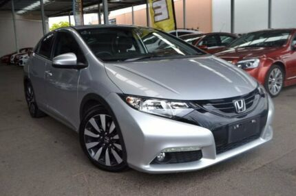 2014 Honda Civic 9th Gen MY14 VTi-LN Silver 5 Speed Sports Automatic Hatchback Hoppers Crossing Wyndham Area Preview