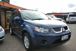 2008 Mitsubishi Outlander ZG MY08 XLS (7 Seat) Blue 6 Speed CVT Auto Sequential Wagon Blair Athol Port Adelaide Area Preview