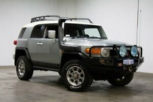 2012 Toyota FJ Cruiser GSJ15R Silver 5 Speed Automatic Wagon Welshpool Canning Area Preview