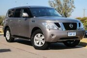 2013 Nissan Patrol Y62 TI-L Precision Grey 7 Speed Sports Automatic Wagon Mindarie Wanneroo Area Preview