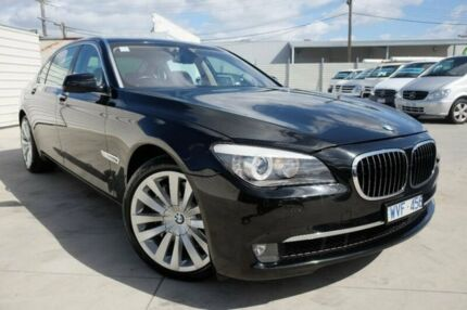 2010 BMW 750Li F02 MY10 LWB Steptronic Black 6 Speed Sports Automatic Sedan